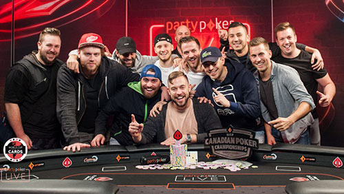 partypoker LIVE news from Sochi, Canada, and WSOPC Uruguay