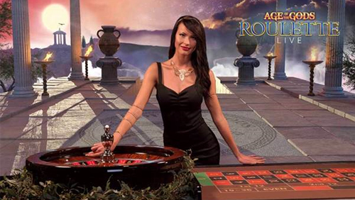 Playtech launches game-changing Age of the Gods live roulette