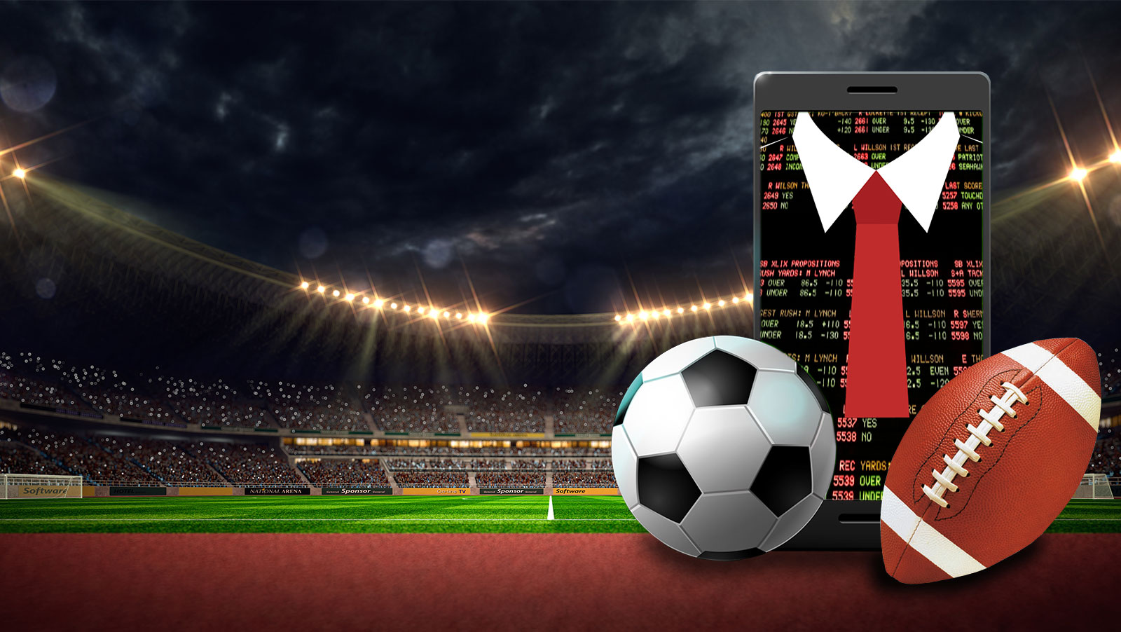 The professionalisation of sports betting
