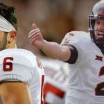 Two Big 12 quarterbacks battling on Heisman trophy betting lines