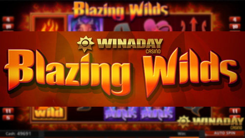 WinADay Casino launches devilish new Blazing Wilds Slot with $13 freebie
