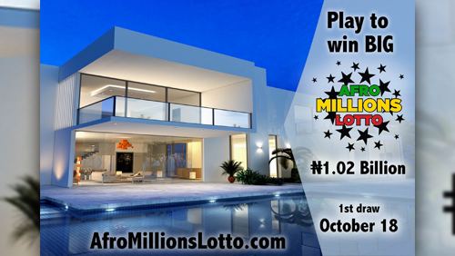 AfroMillionsLotto goes live next wednesday with over N1 billion jackpot the biggest in Africa