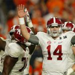 Alabama becoming bigger favorite to win National Championship
