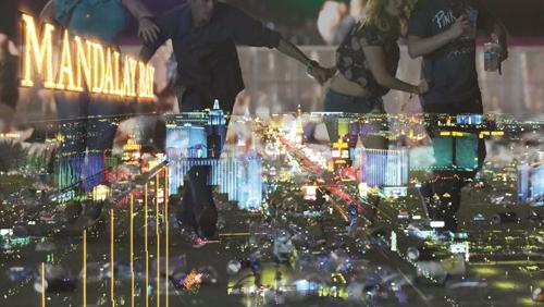 Man opens fire at music festival near Las Vegas's Mandalay Bay