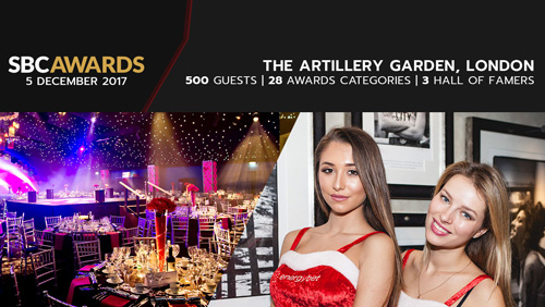 The SBC Awards provides the perfect Christmas party in London