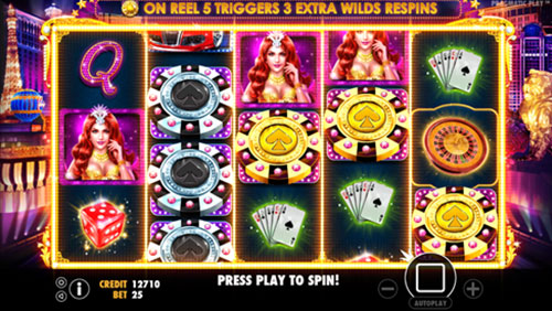 A WORLD OF ENTERTAINMENT AWAITS IN PRAGMATIC PLAY'S VEGAS NIGHTS