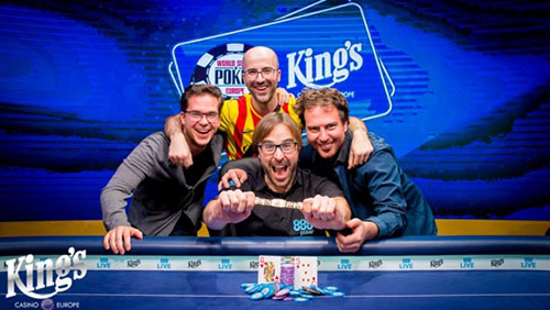 Catalonian wins €1.1m WSOPE Main Event after qualifying via 888Poker for €220