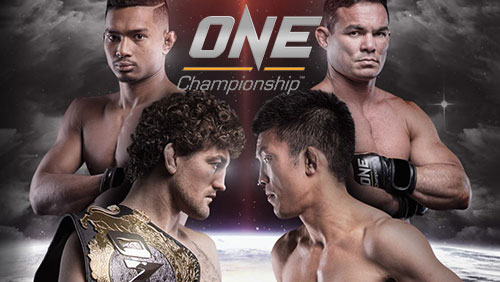 ONE: IMMORTAL PURSUIT IN SINGAPORE COMPLETE WITH 10 BOUTS