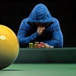 Trading places: a snooker player avoiding poker; a footballing jockey