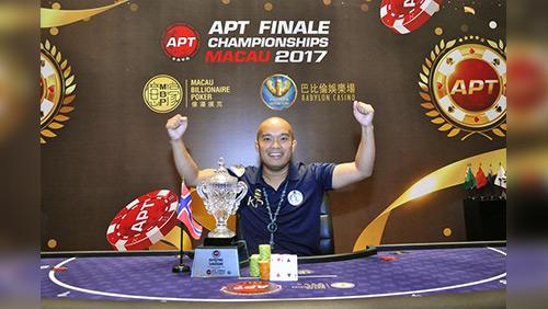 APT 2017 season ends! Hung Sheng Lin, Michael Soyza, and Kai Paulsen win APT POS titles