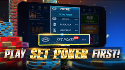 """KamaGames announces the launch of their latest game """"SET POKER"""""""
