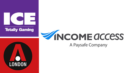 Income Access to Exhibit during ICE Totally Gaming  London Affiliate Conference
