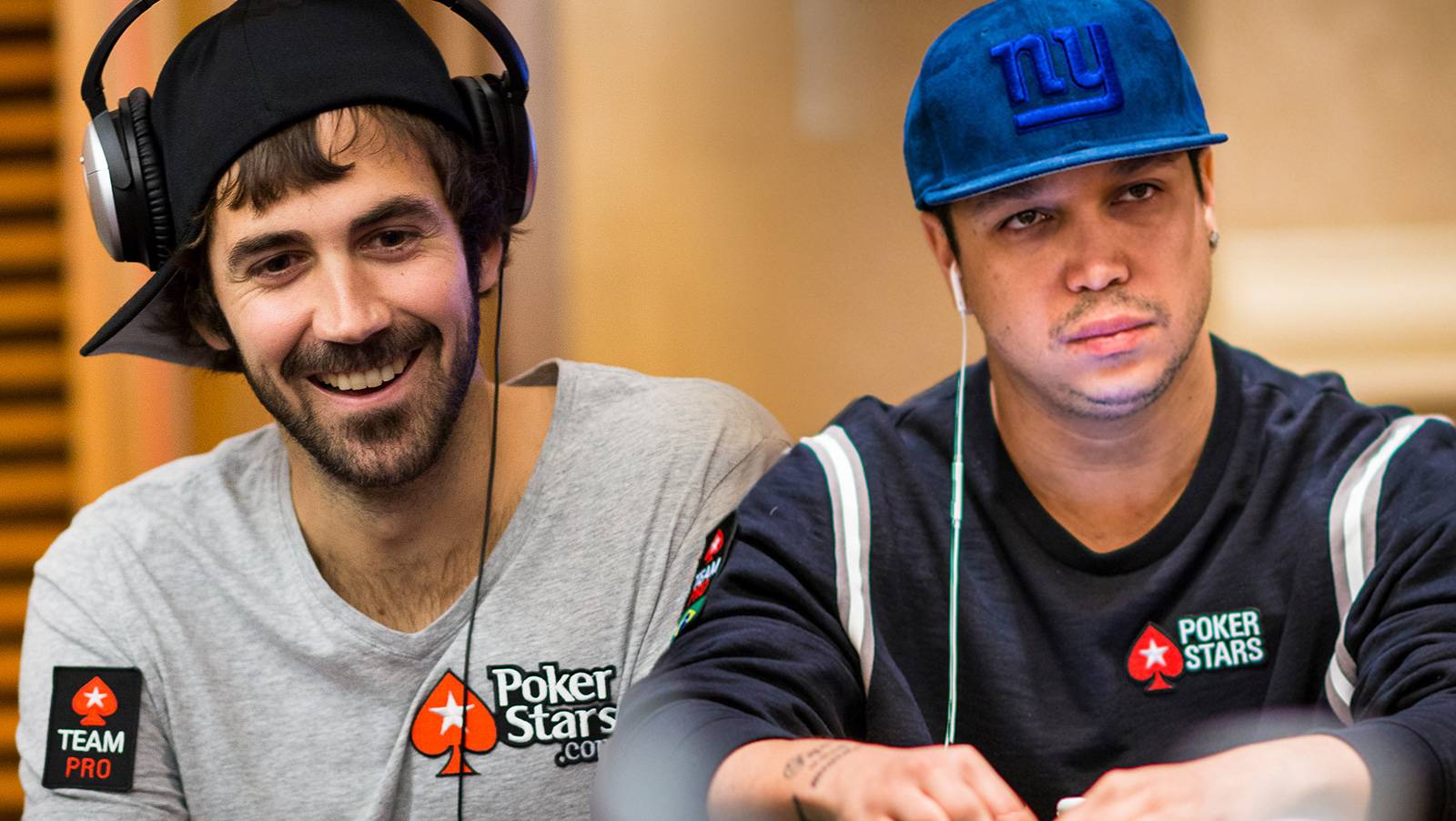 Mercier & Ramos follow Selbst out of the door marked 'PokerStars'