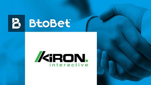 BTOBET AND KIRON INTERACTIVE ANNOUNCE THEIR PARTNERSHIP