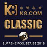 K8 to sponsor The Supreme Pool Series