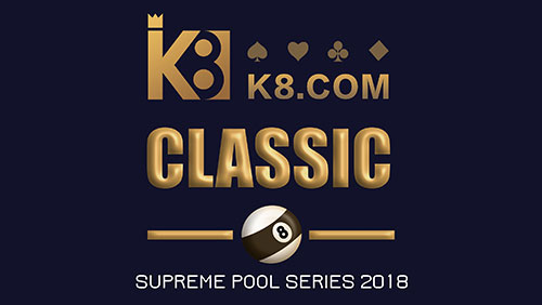 K8 to Sponsor The Supreme Pool Series