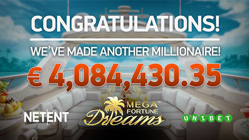 NetEnt's Mega Fortune Dreams™ changes another life with €4m windfall