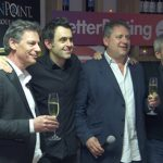 Snooker champ Ronnie O'Sullivan attends CoinPoint's Bitcoin Cash Party