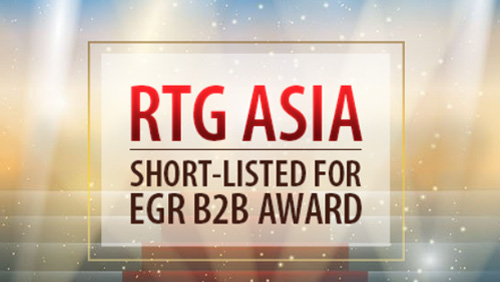 RTG Asia short-listed for EGR B2B award