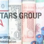 Australia, currency fluctuations boost The Stars Group's Q1