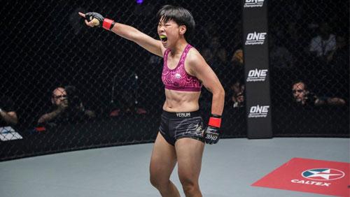 XIONG JING NAN DEFENDS ONE WOMEN'S STRAWWEIGHT WORLD CHAMPIONSHIP AGAINST LAURA BALIN IN MACAU