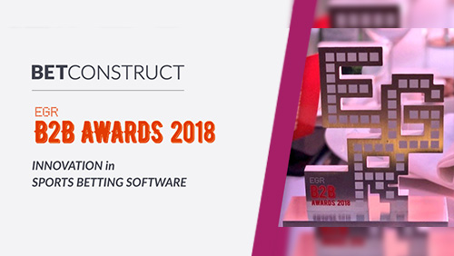 BetConstruct becomes the Innovator in  Sports Betting Software at EGR awards