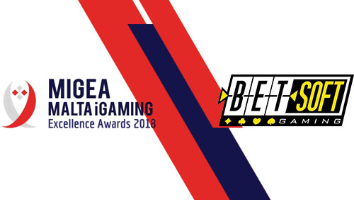 Betsoft Gaming Earns Further Recognition at Malta iGaming Excellence Awards 2018