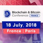 French Capital will host Blockchain & Bitcoin Conference France – Large Blockchain event with top experts