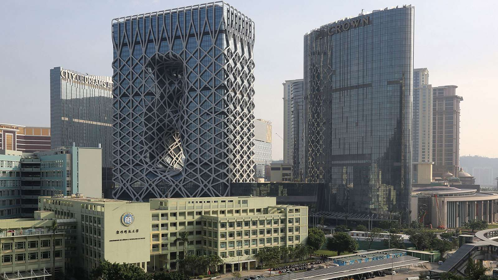 Macau christens casino designed by famed architect Zaha Hadid