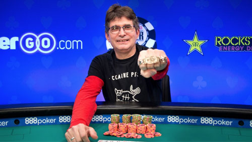 WSOP Day 20: like a Rolling Stone; Steve Albini wins the baby Stud