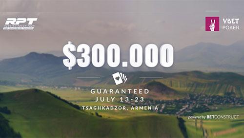 BetConstruct powers a guaranteed Vbet Russian Poker Tour