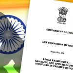 India's Law Commission urges gov't to legalize gambling, betting