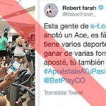 Colombian tennis star sanctioned for betting company tweet