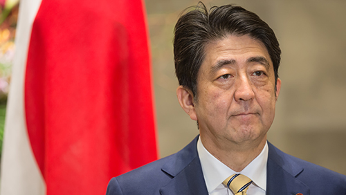 Japan PM Abe's popularity plunges over casino law, flood