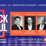 Block Seoul assembles industry leaders, David Paterson, Lt. General James Clapper, Bobby Lee, and Jung-Hee Ryu PH.D with others to elevate the discussion of Blockchain, AI, Immersive art on how human connect through technology