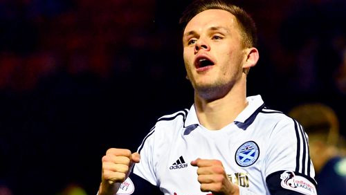 Just like Bitcoin BCH: Demand for Ayr United's Shankland soars