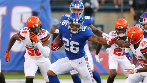 New Jersey regulated mobile wagering makes its debut at Browns-Giants game