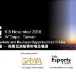 Asia Gaming Summit returns to Taiwan this November