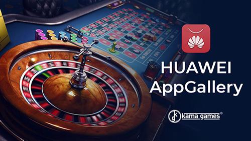 KamaGames Releases Social Casino Portfolio Onto Huawei App Gallery