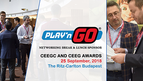 Play'n Go becomes Networking Break and Lunch Sponsor at CEEGC 2018 Budapest