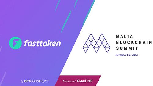 Fasttoken presents its latest tech breakthroughs at Malta Blockchain Summit