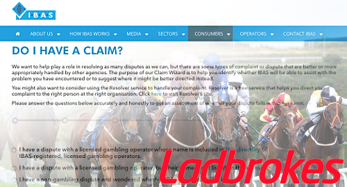 Ladbrokes hoping adjudicator finds no fault with declined bets